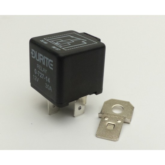 Standard Durite RELAY HOLDER WITH MOUNTING BRACKET AND TERMINALS RELAYS